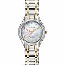 Citizen Eco-Drive Women's EM0284-51N Silhouette 27mm Two-Tone Watch