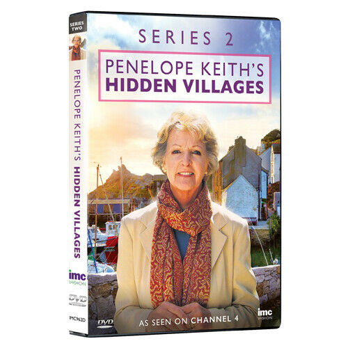 Penelope Keith's Hidden Villages Series 2 (DVD), 2 Disc Set, New, Factory Sealed