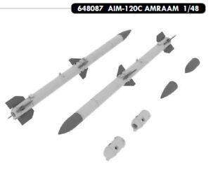 EDUARD BRASSIN 1/48 AIM-120C AMRAAM x 2 # 648087  </span>