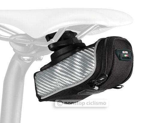 SciCon PHANTOM 230 Roller Carbon Bicycle Saddle Bag Under Seat Storage SILVER