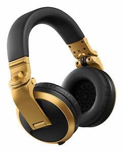 PIONEER HDJ-X5BT N bluetooth GOLD CUFFIA MONITOR PROFESSIONALE PER DJ STUDIO new