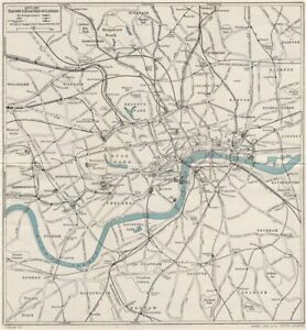 Road Map Central London.Details About Central London Railway Road Map Tube Underground Ward Lock 1951 Old