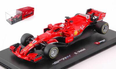 Affidabile Ferrari Sf71h Sebastan Vettel 2018 #5 F1 Formula 1 1:43 Model 36808v Bburago Perfetto Nella Lavorazione