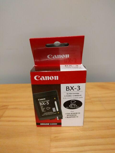 New Canon BX-3 Genuine Ink Cartridge