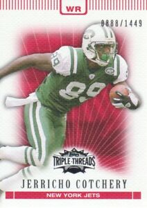 2007-Topps-Triple-Threads-Football-72-Jerricho-Cotchery-0888-1449-New-York-Jets