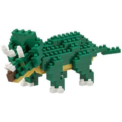 NANOBLOCK Triceratops Dino NanoBlock Micro-Sized Building Blocks Kawada NBC-112