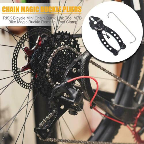 Bicycle Mini Chain Quick Link Clamp Road Bike Chain Removal Installation Tool