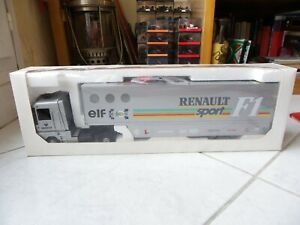 Truck-Renault-Magnum-Williams-Renault-Sport-F1-1992-1-43-Lbs-Eligor-Formula-1
