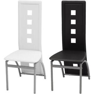 Mehrere Auswahl Hochlehner Vidaxl Küchenstuhl Kunstleder Stuhl Zu Details Esszimmerstuhl 0POkn8w