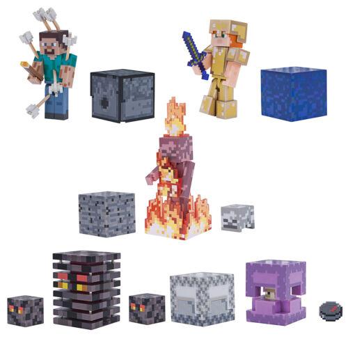 Minecraft 3-inch Action Figures Series 4 choisissez votre préféré *