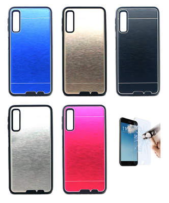 "2018 4g Bright Pt Etui Coque Housse En Aluminium Rigide Samsung Galaxy A7 6"" Agreeable Sweetness"