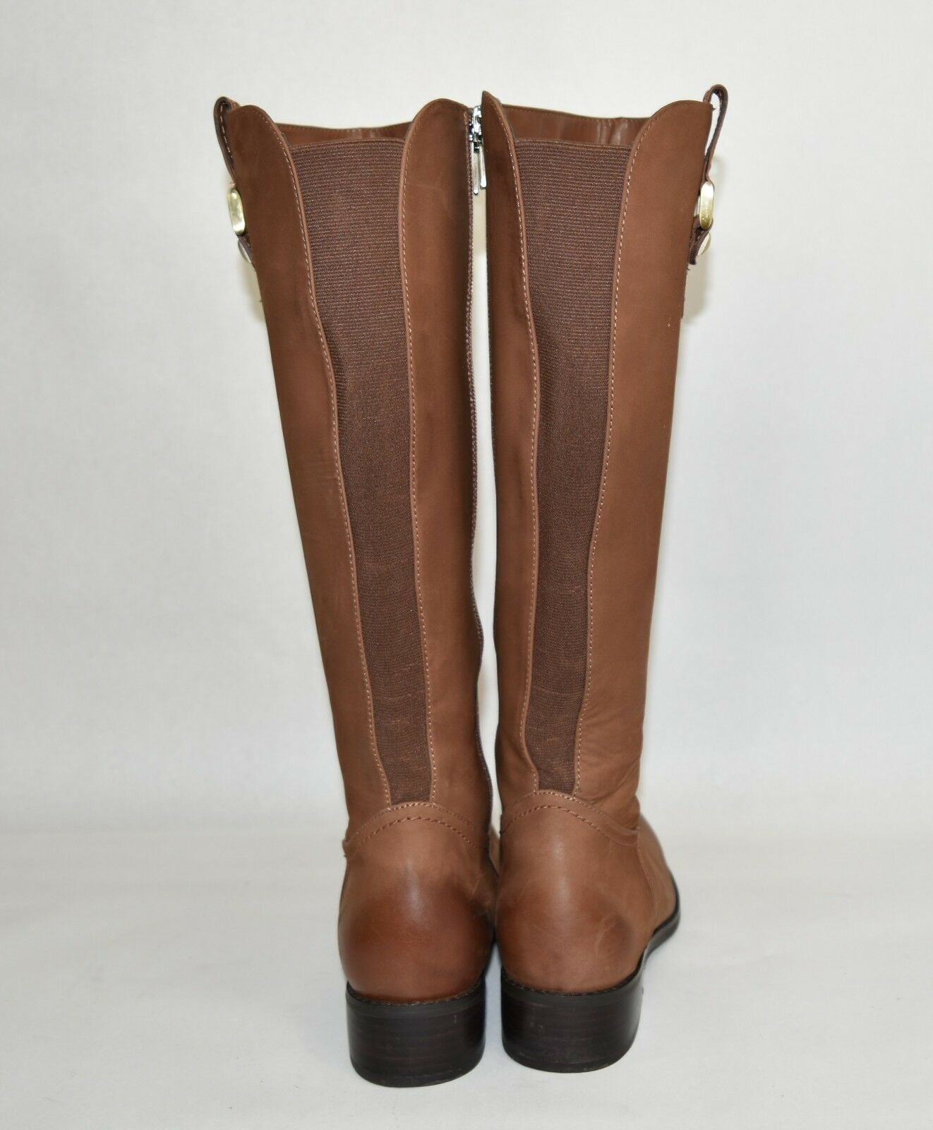Blondo Blondo Blondo 'Velvet' Waterproof Riding Boot Cognac Nubuck Leather B5125 Size 10 839dc3