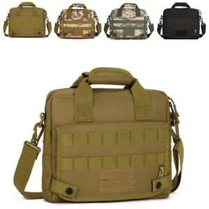 172a735de0 Image is loading Men-Nylon-Messenger-Shoulder-Bag-Military-Tactical-Outdoor-