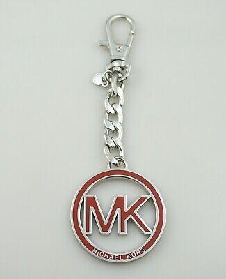 Michael Kors MK Logo Medallion Key Fob Hang Tag Purse Charm Key Chain AUTHENTIC | eBay