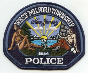 MANCHESTER TOWNSHIP NEW JERSEY NJ POLICE PATCH