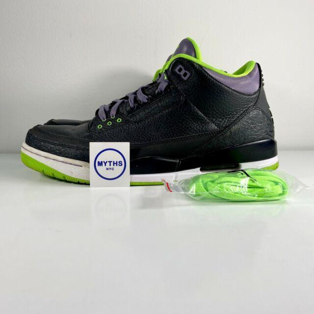 Nike Air Jordan III 3 Retro Joker Green