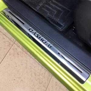 For-Nissan-Qashqai-J11-Accessories-Car-Door-Sill-Scuff-Kick-Plate-Protector-Trim