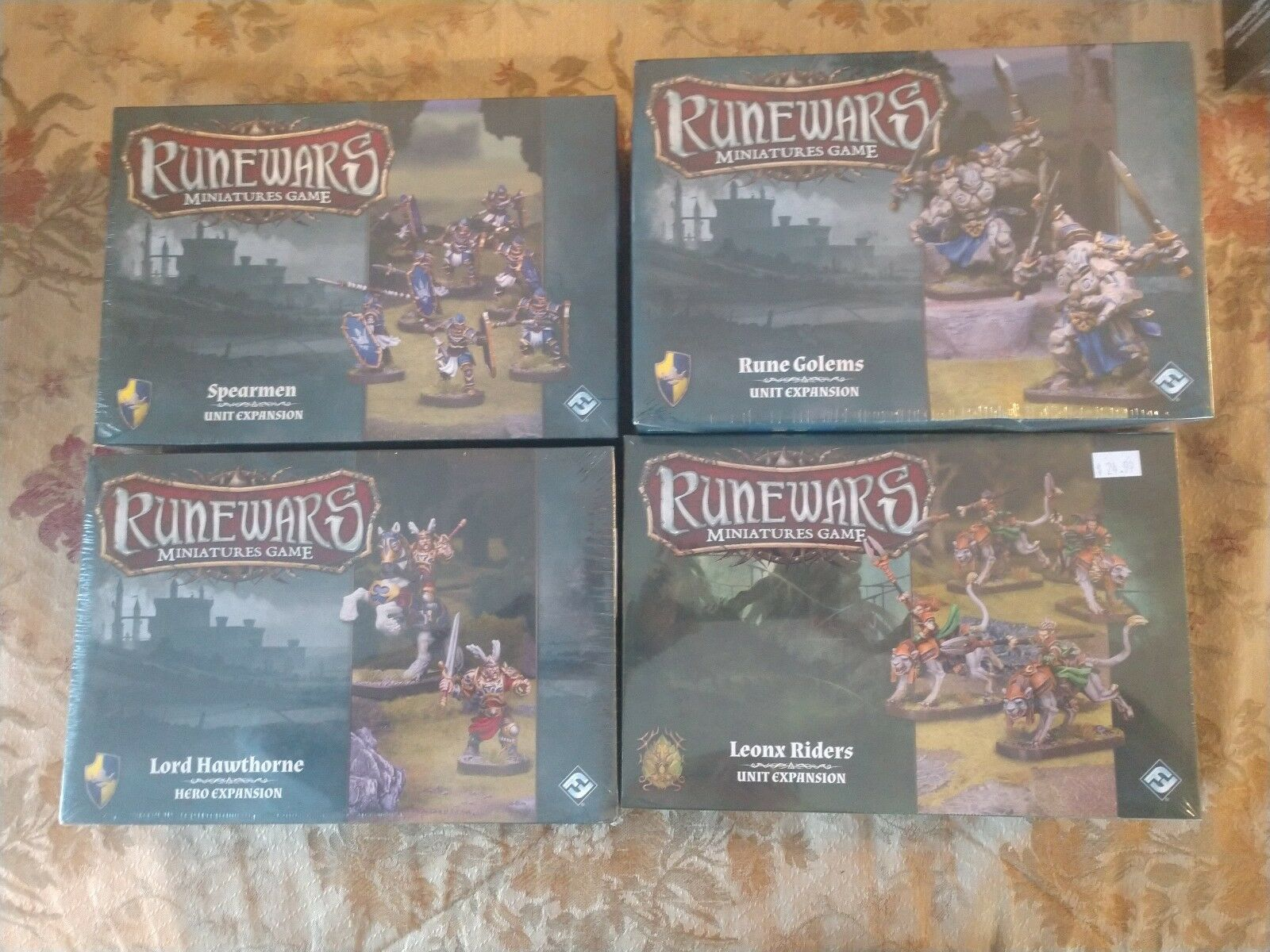 Runewars miniaturen menge new in box