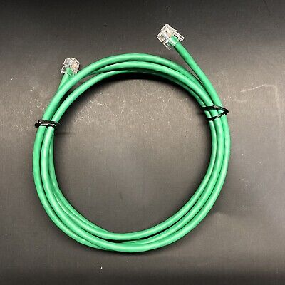 RJ11 RJ12 CAT5e Green DSL Telephone Modem Data Cable for Centurylink AT/&T 75ft