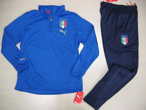 0704 SIZE XL ITALY TRACK SUIT TRAINING TRG TRACKSUIT SURVETEMENT SUDADORA ITALY