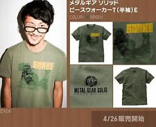 METAL GEAR SOLID 2010 T-SHIRT PEACE WALKER MGS GREEN LARGE SNAKE JAPAN KONAMI
