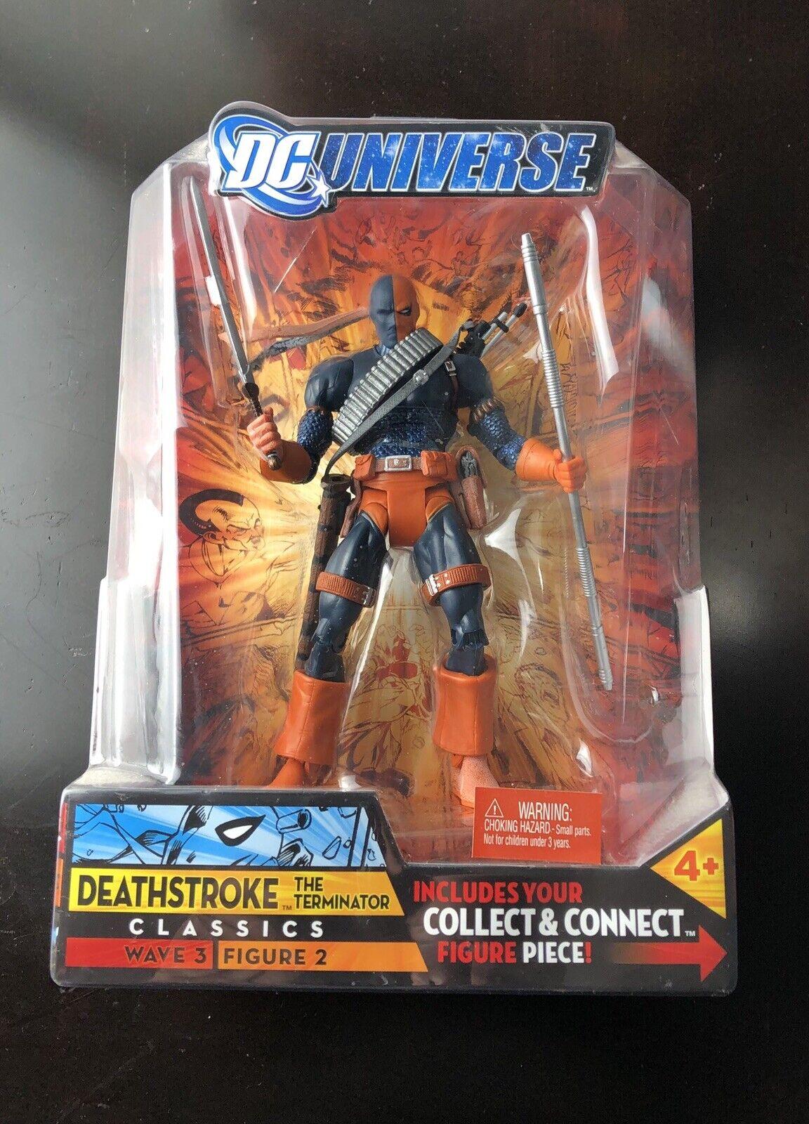 DC Universe Classics Wave 3 Deathstroke The Terminator Figura De Acción enmasCocheada ()