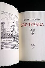 JAN KONUPEK | Pad Tyrana Czech avant-garde Book Design Illustration Modernism