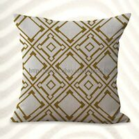 Us Seller-pillowcases Home Decoration Geometric Cushion Cover