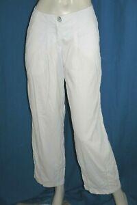 CREA-CONCEPT-Taille-36-Superbe-pantalon-femme-ton-blanc-trousers-pants