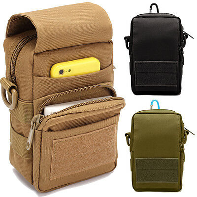 New Men's Tactical Molle Pouch Belt Fanny Pack Bag Pocket Military Waist Bags