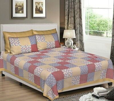 Indian Bed Sheet Hippie King Size Bedding Set Boho Bed Cover With Pillow Covers