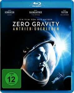 Zero Gravity attacco sopravvivenza [Blu-Ray/Nuovo/Scatola Originale] più realistico SCI-FI-THRILLER