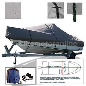 Boston Whaler 23 Conquest WA cuddy cabin O//B Trailerable Boat Cover Grey