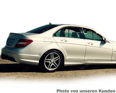 Mercedes W204 Spoiler AMG Tuning Heckspoiler Kofferraum Lippe Calcitweiss 650