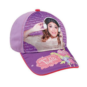 Image is loading VIOLETTA-hat-with-visor-lilac-printed-glossy-cotton- 7929199f0a20