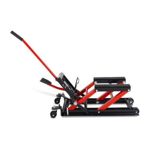 Motorrad-Ständer L Kawasaki  VN-15 Lift Motorrad-Heber rot-schwarz