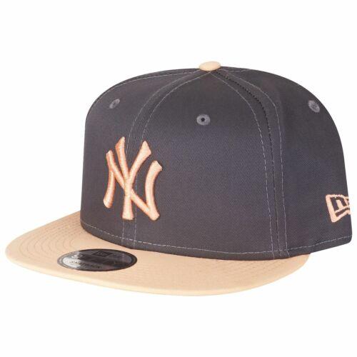 peach New Era 9Fifty Snapback Cap NY Yankees graphite