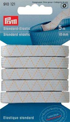 Standard-Gummi Länge: 5m, Breite: 10mm / 910121 / GOLDZACK PRYM®-Markenartikel
