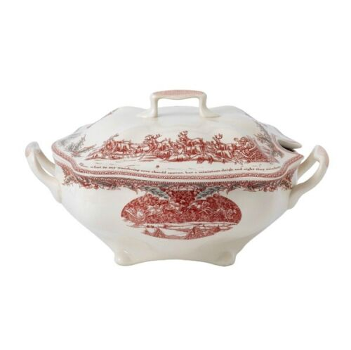 Johnson Brothers Twas the Night Before Christmas SOUP TUREEN COVERED BOWL NIB
