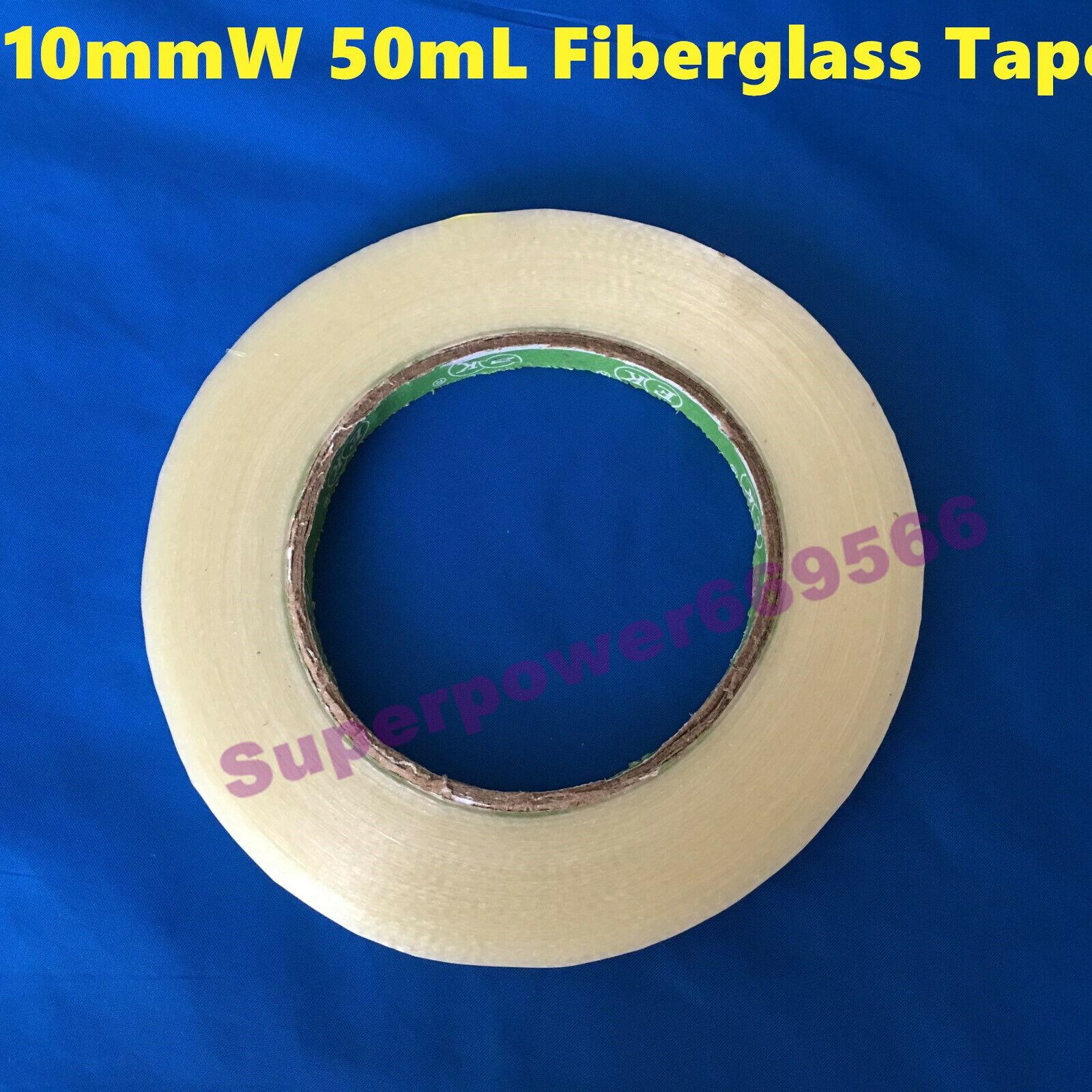 10mm W fiberglass adhesive tape model airplane battery high strength singleside