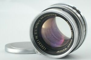 EXC-Vintage-Leica-Summicron-5cm-50mm-f-2-Leitz-fuer-M-Mount-Objektiv-9040