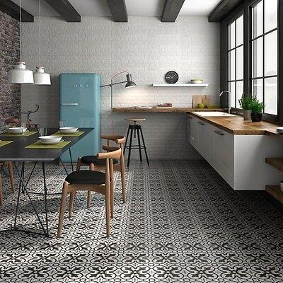 Boulevard Victorian Patterned Floor Tiles 45cm X 45cm Ebay