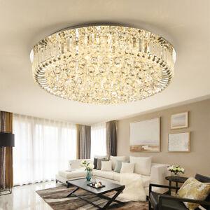 brand new a411b 28351 Details about Luxury living room modern crystal ceiling light LED bedroom  chandelier lighting