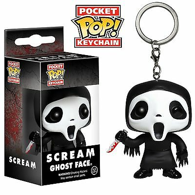 Funko Pocket Pop Keychain Horror Scream: Ghostface Action Figure Collectible Toy