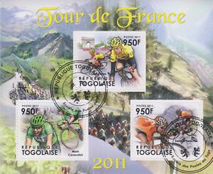 Tour de France Togo gestempelt 3009
