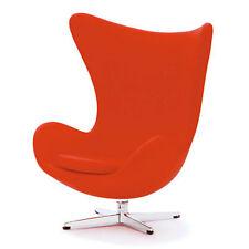 Dollhouse Sedia design 1:12 Egg chair Arne Jacobsen rossa red