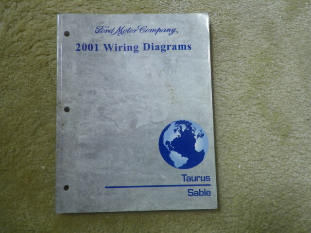 Factory Original 2001 Ford Taurus Sable Wiring Diagrams