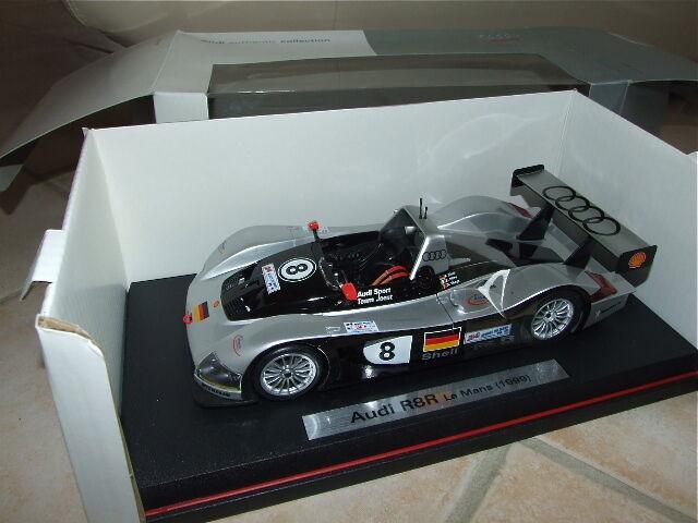 Audi r8r no. 8 le mans 1999 maisto 1 18