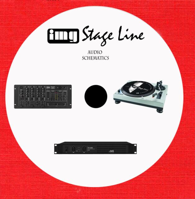 Img Stage Line Audio Repair Service Schematics On 1 Dvd In