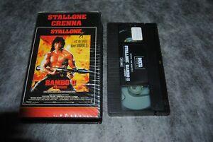 K7-Cassette-Video-Vintage-VHS-PAL-Rambo-2